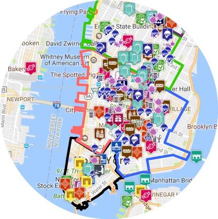 mapa NYCI