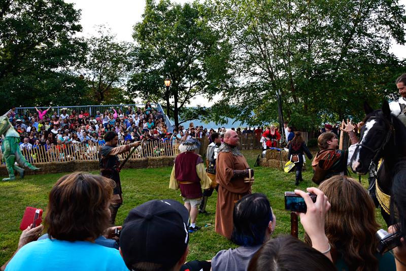 Medieval Fest no FortTryon Park em New York