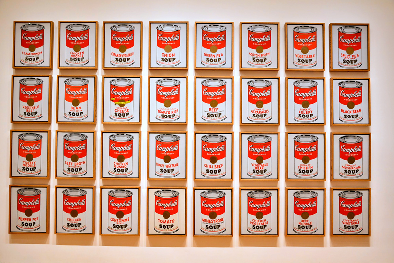 Andy Wahol no MoMA - Museum of Modern Art de New York