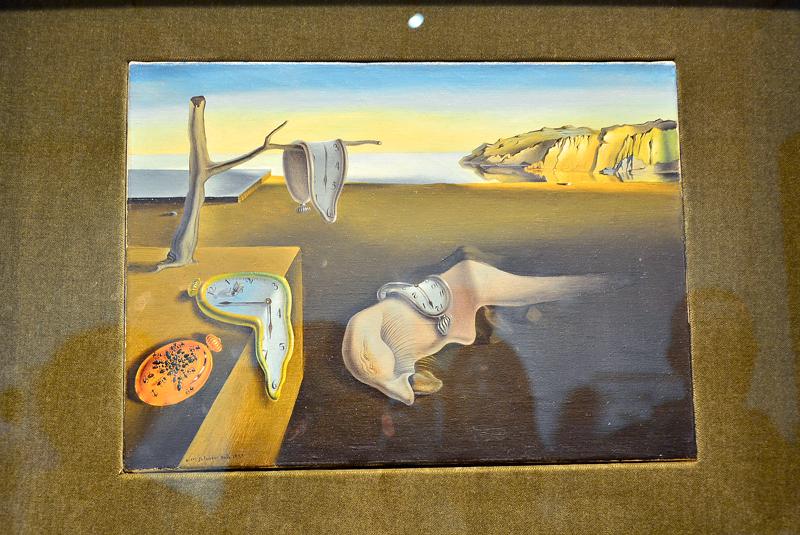 Salvador Dalí no MoMA - Museum of Modern Art de New York