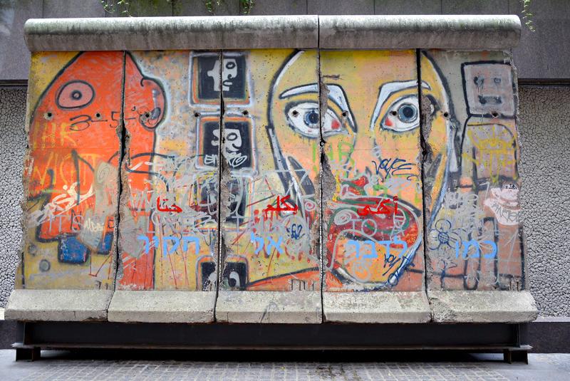 Um pedaço da Berlin Wall