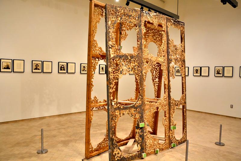 Obra de arte no Museo del Bario em New York