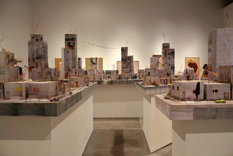exposição no New Museum em New York