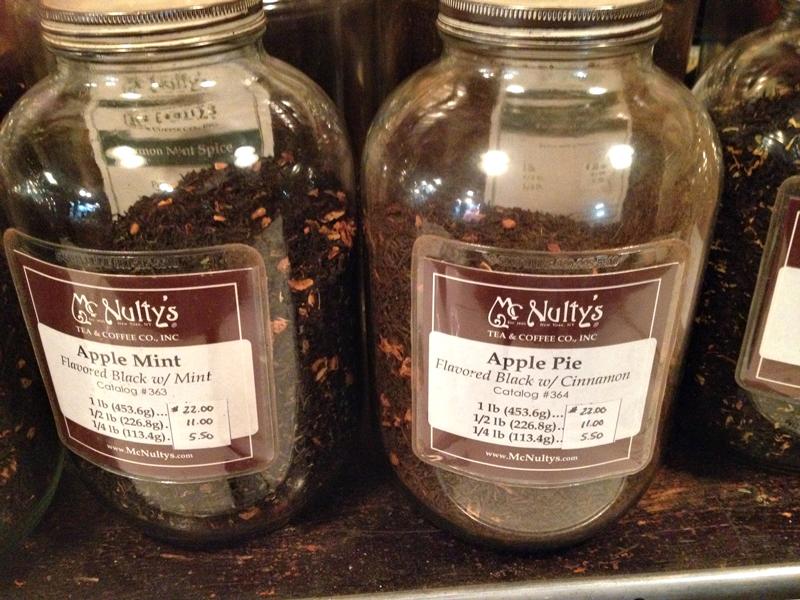 McNuty's rare Teas & Choice Coffees