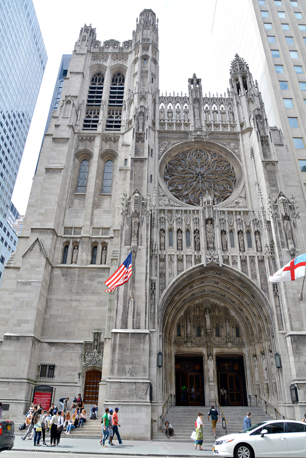 Saint Thomas Church, Midtown, Manhattan, New York, NYC, USA, EUA