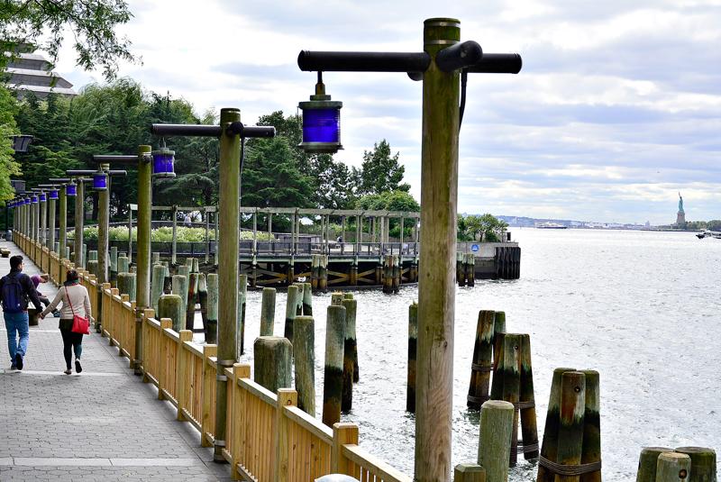 South Cove no Battery Park City de New York