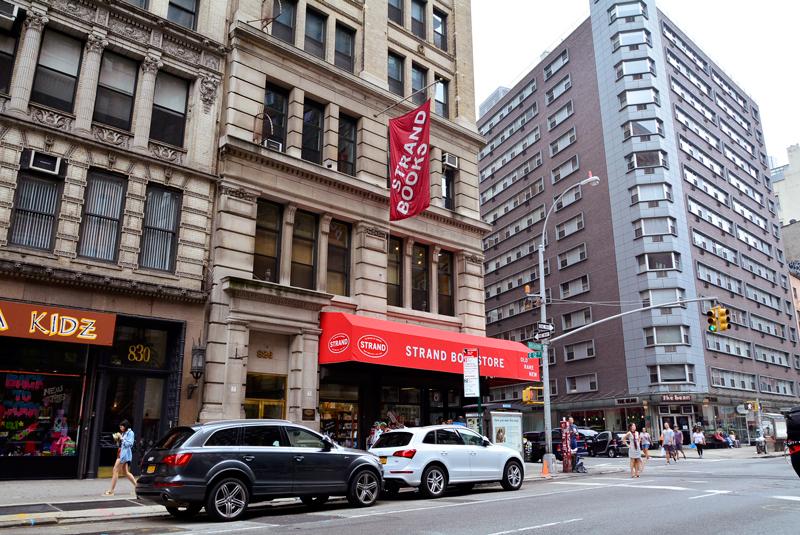Strand Books em Nova Iorque