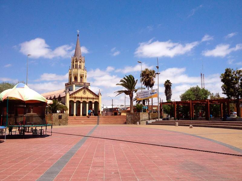 Caldera no Chile