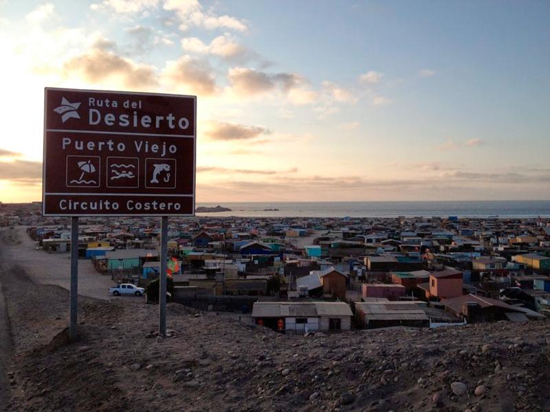 Puerto Viejo no Atacama Chileno no Chile