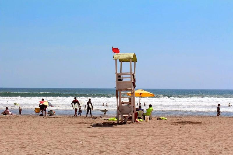 Praia do Farol em La Serena no Chile