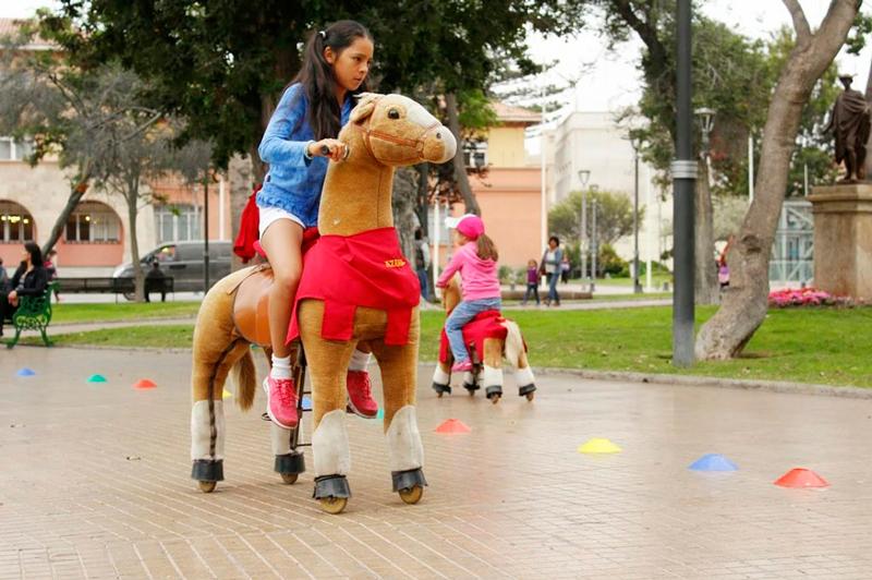 Plaza de Armas em La Serena no Chile