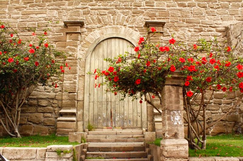 Igreja Santo Domingo em La Serena no Chile