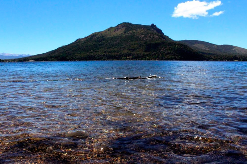 Circuito Chico na Patagonia Norte na Argentina