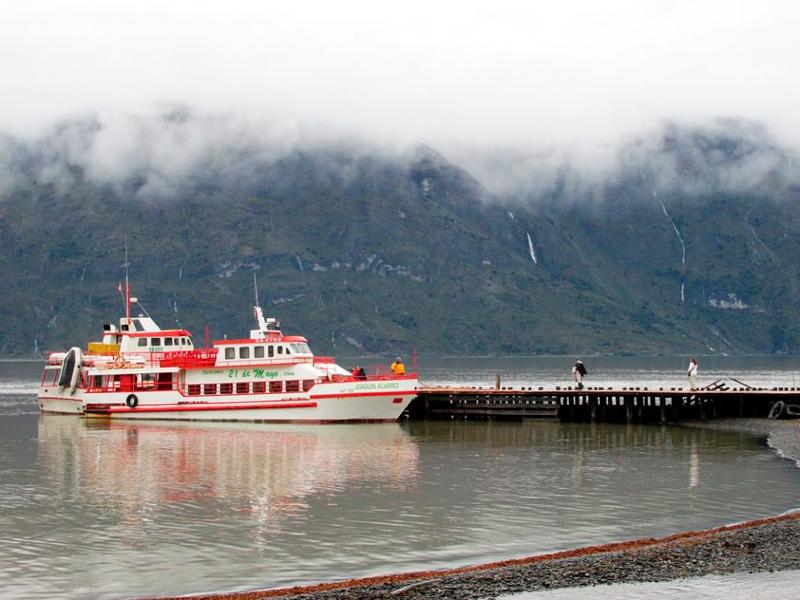 Seno Última Esperanza em Puerto Natales no Chile