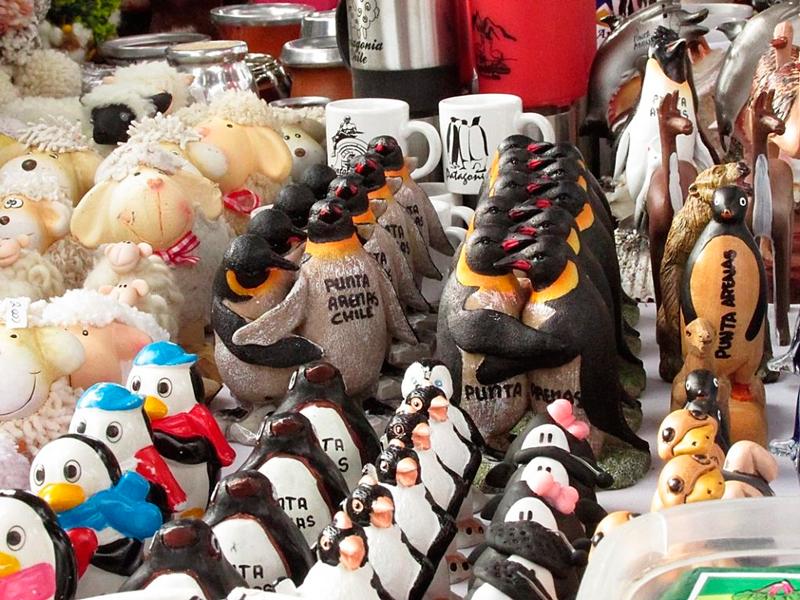souvenires em Punta Arenas no Chile