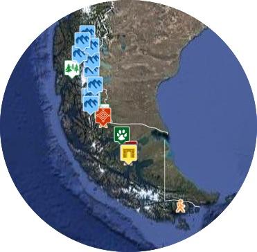 mapa punta arenas