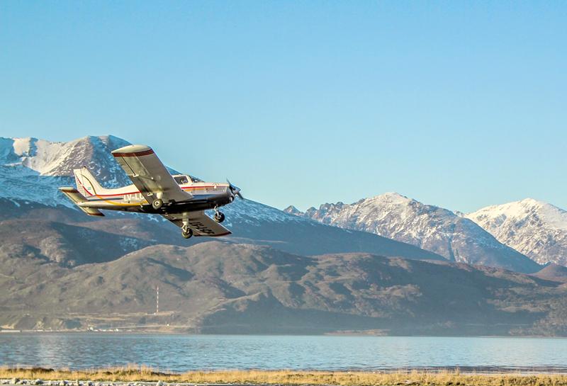 Aeroclub de Ushuaia na Argentina