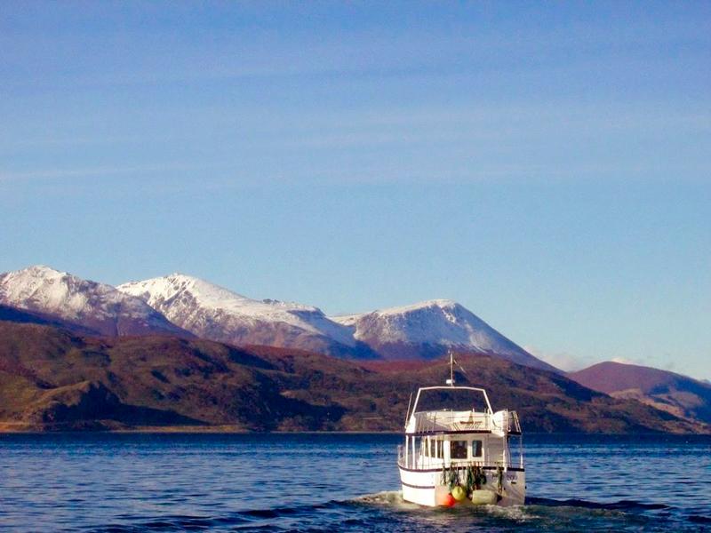 Passeio de barco em Ushuaia na Argentina