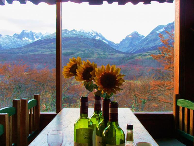 Restaurante em Ushuaia na Argentina
