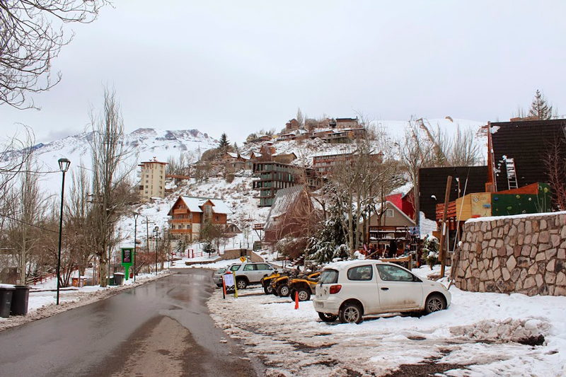 em Farellones no Chile
