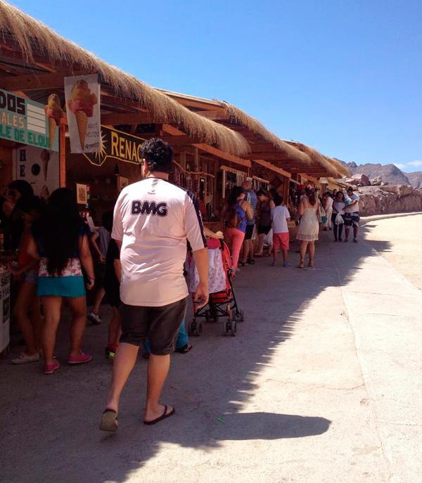 Feira de Artesanato do Mirador em Vicuña no Chile