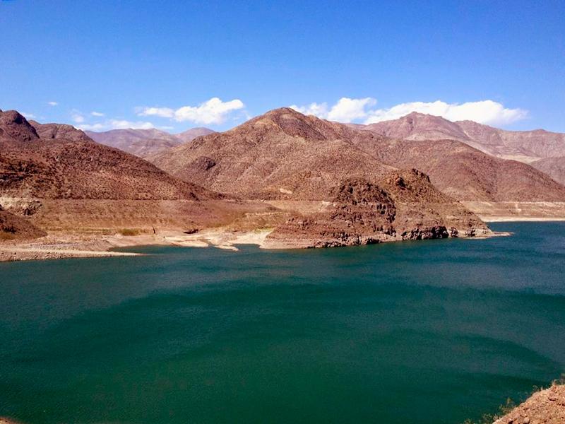 Represa, Mirador em Vicuña no Chile