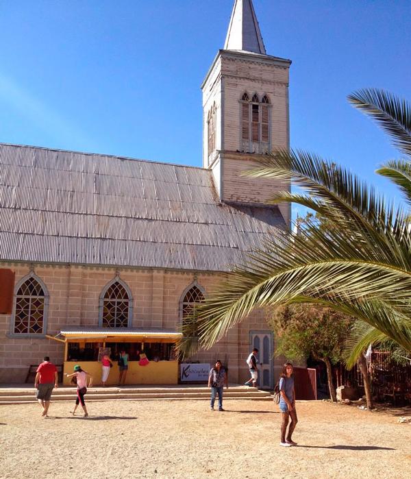 Igreja Matriz de Pisco Elqui no Chile