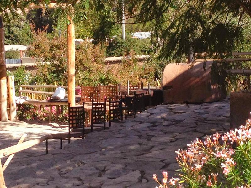 Restaurante Pisco Mistral em Pisco Elqui no Chile