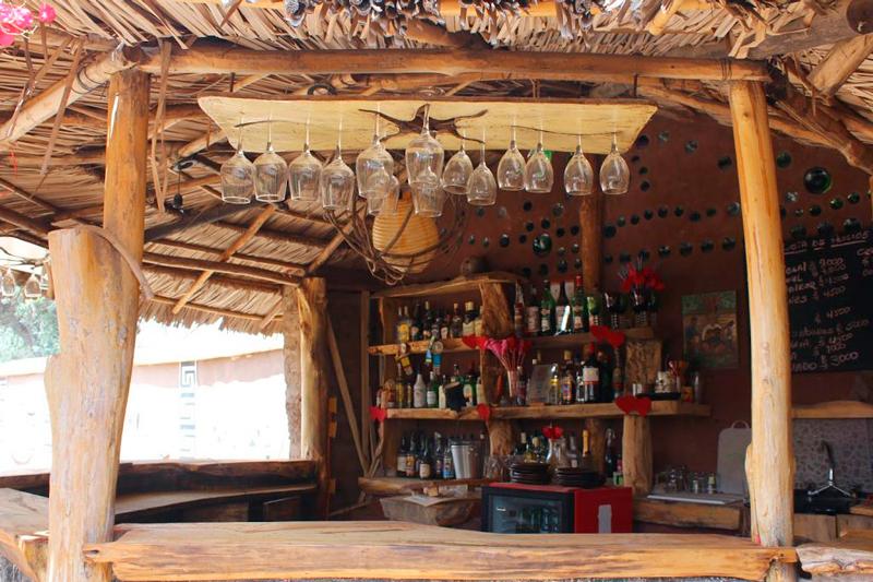 Restaurante Cabildo Abierto em Barraza no Valle Limari no Chile