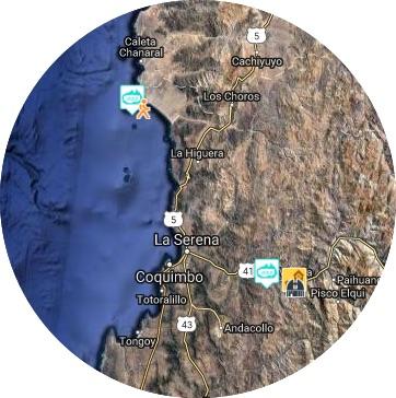 mapa valle elqui