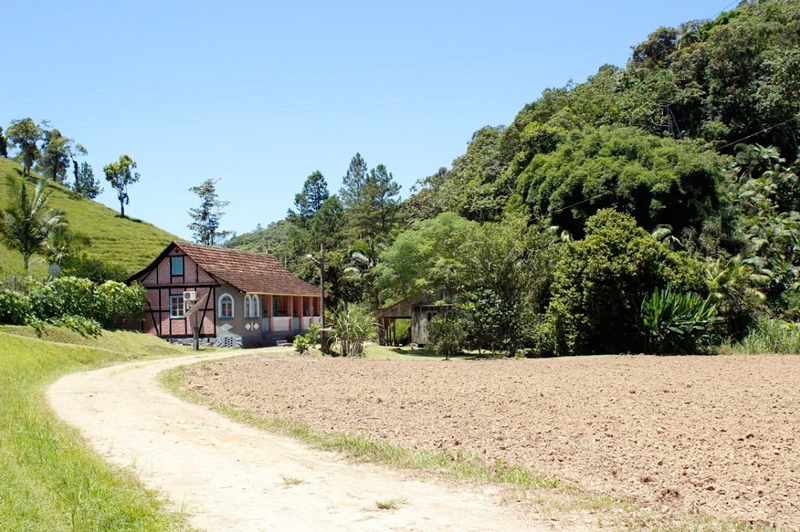 Casa em estilo enxaimel em Itoupava Central