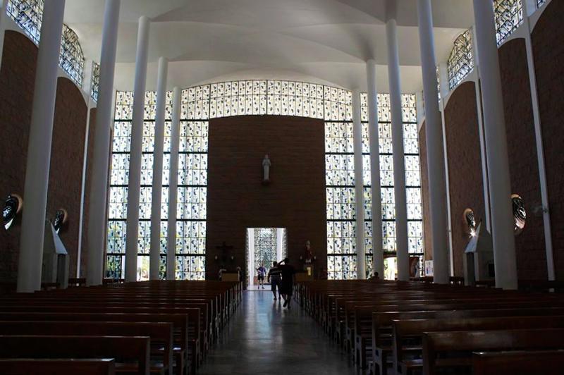 Catedral de São Paulo Apóstolo de Blumenau no Centro de Blumenau em Santa Catarina