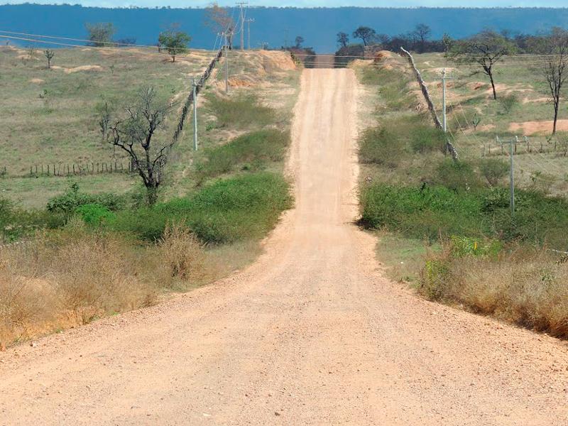 Trecho de terra até Itaetê