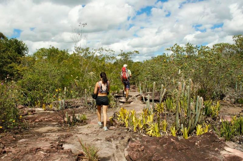 Em direção à Cachoeira do Buracão na Chapada Diamantina na Bahia