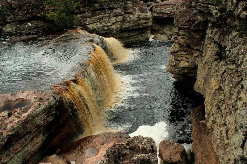 Cachoeira do Buracão na Chapada Diamantina na Bahia