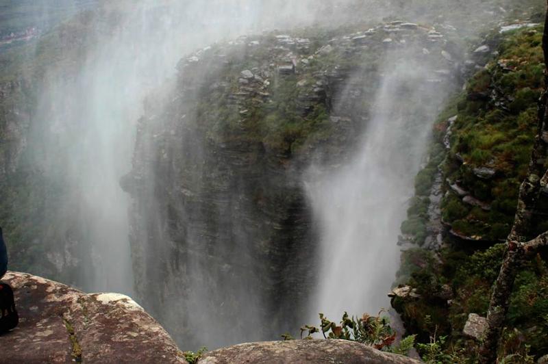 Cachoeira da Fumaça no Vale do Capão na Chapada Diamantina na Bahia