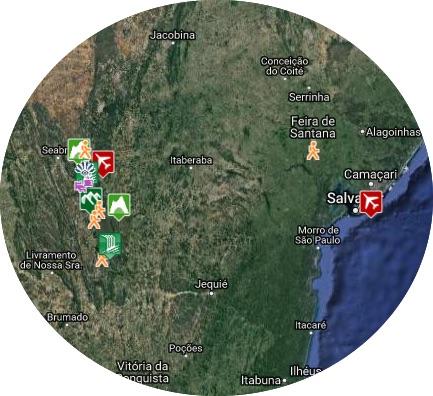 mapa chapada