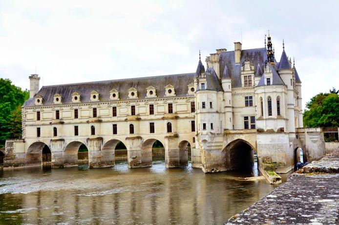 Château de Chenonceau na França