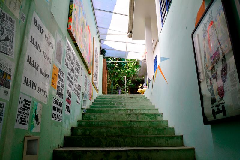 Galeria de arte Choque Cultural na Vila Madalena