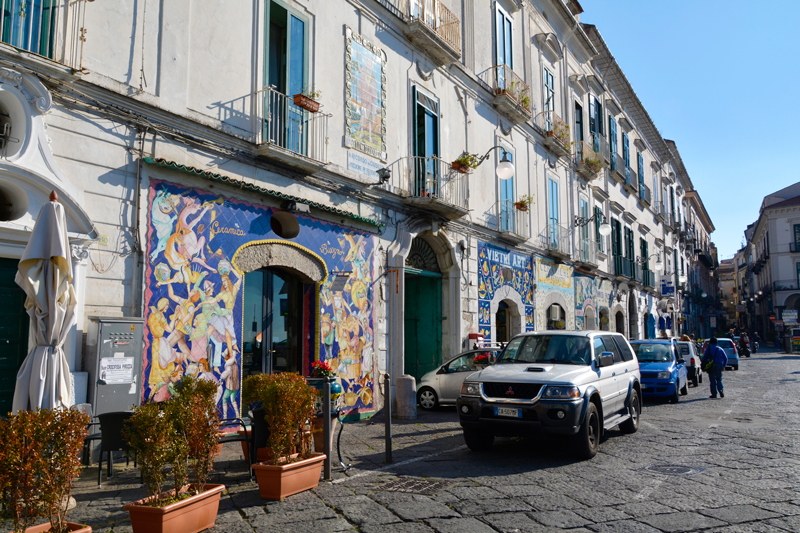 Vietri Sul MAre na Costiera Amalfitana na Italia