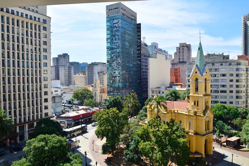 Igreja Nossa Senhora do Rosário dos Homens Pretos, São Paulo, Centro