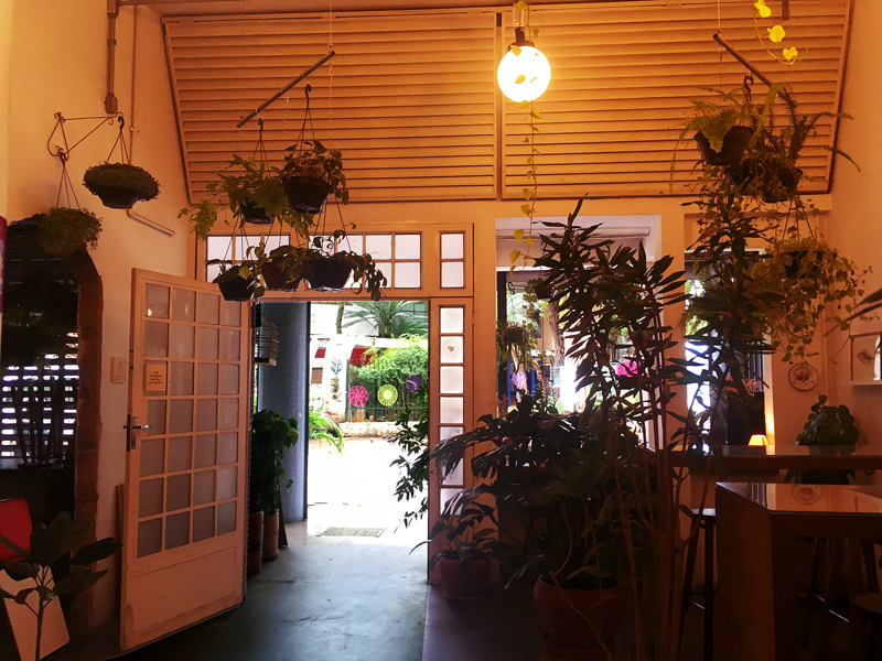 cafeteria jardin do centro na vila buarque em são Paulo