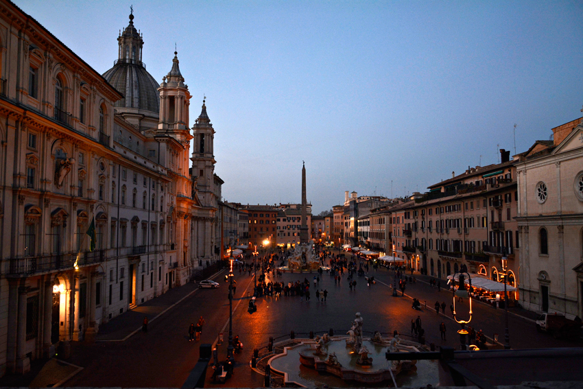 Piazza Navona , Roma, Italia