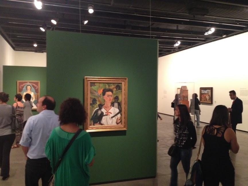 Esta exposição da Frida Kahlo estava fantástica!