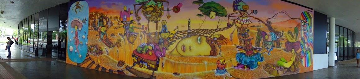 Graffiti do MAM