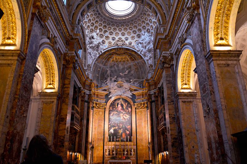 San Luigi dei Francesi em Roma na Italia