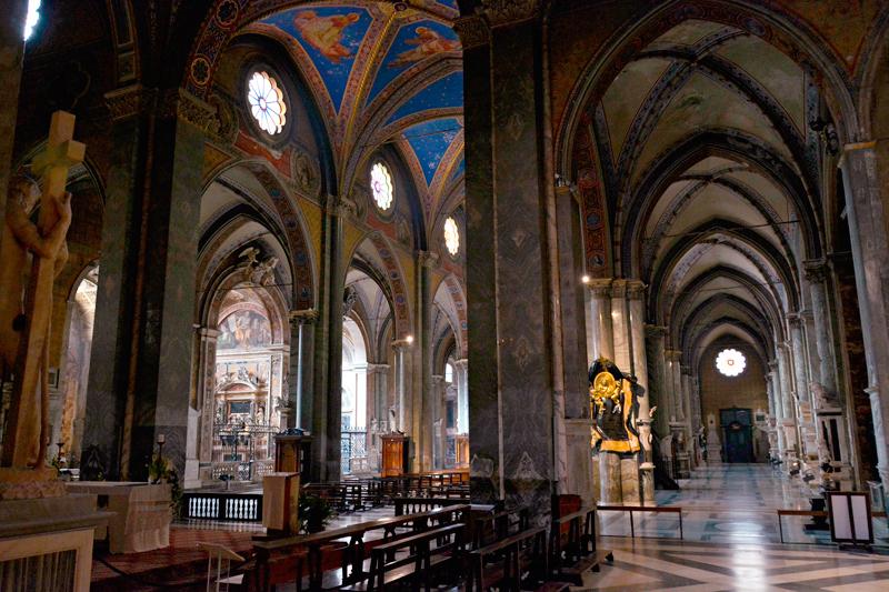 Basilica di Santa Maria Sopra Minerva em Roma na Italia