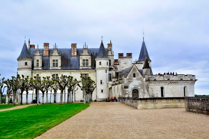 Château d'Amboise na França