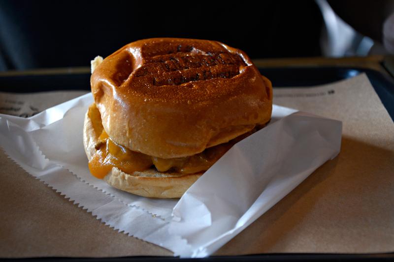 hamburguer da Bullguer Vila Madalena