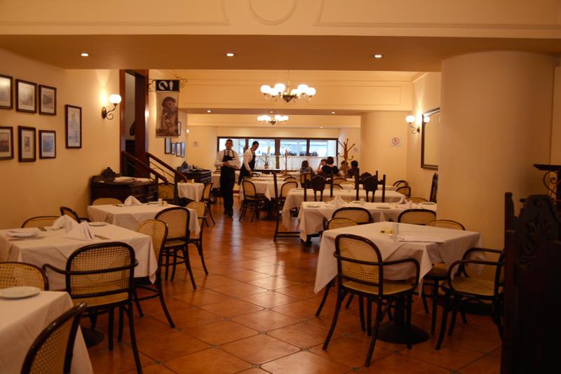 Girondino Café no centro de São Paulo